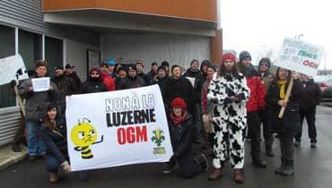 Action in Lévis Quebec
