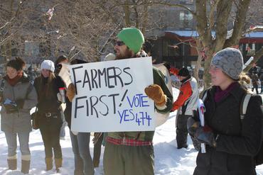 Farmers First!