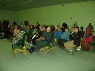 Full house, St. John's event Oct 27