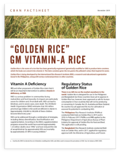 Golden Rice cover art