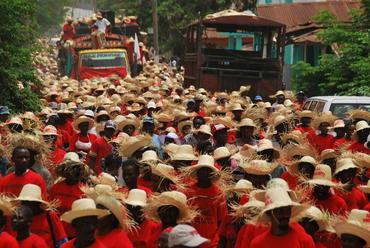 Haiti's farmers protest
