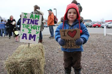 """""""I am fine the way I am!"""" Wolfville NS"""