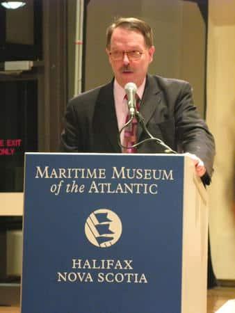 Jaydee Hanson speaks in Halifax