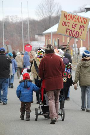 Monsanto Out of My Food in Wolfville