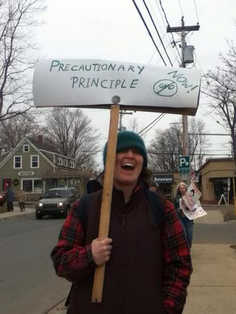 Precautionary Principle is no laughing matter in Wolfville