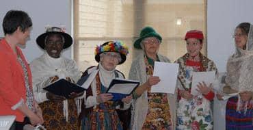 Raging Grannies Sing to Halifax MP Megan Leslie