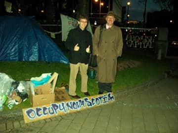 U.S. Speakers Visit Occupy Nova Scotia!