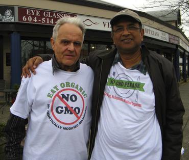 Wally and Tony in Langley BC