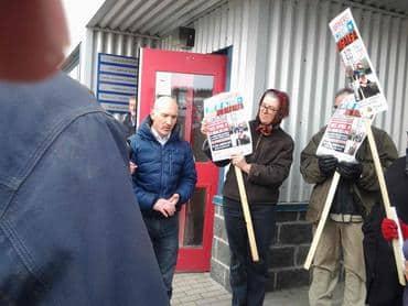 Yukon MP Speaks With Protestors