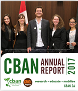 cban annual report cover