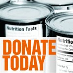 Donate today graphic