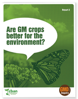 GMO Inquiry: Are GM Crops Better for the Environment?